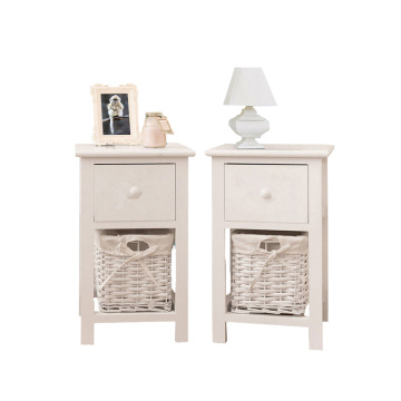 modern solid wood nightstand side table bedside cabinet